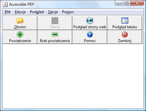 Odczytywania pdf plikow do program