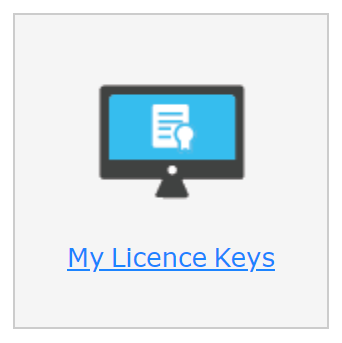 """The """"My Licence Keys"""" option in your Claro account."""