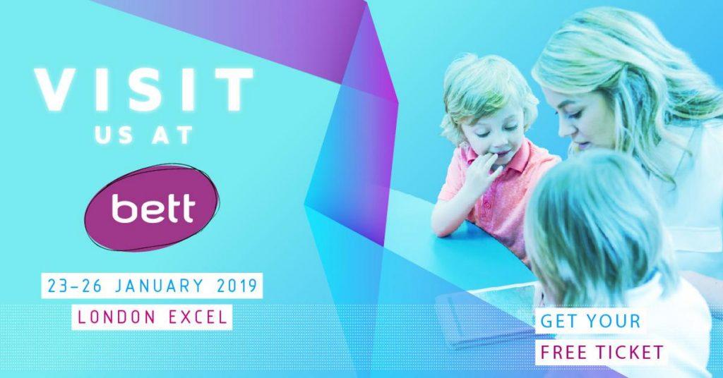 Visit us at BETT 2019